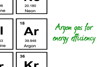 argon gas for energy efficient replacement windows
