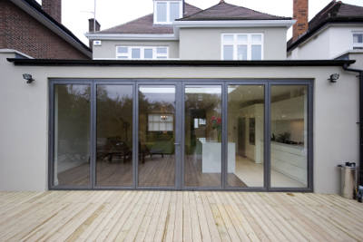 folding patio doors are great for big spaces