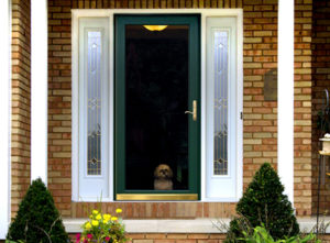what are storm doors used for