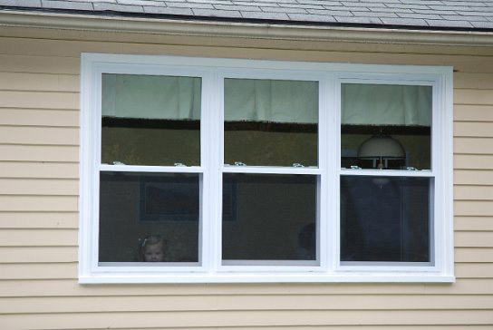 double hung window size