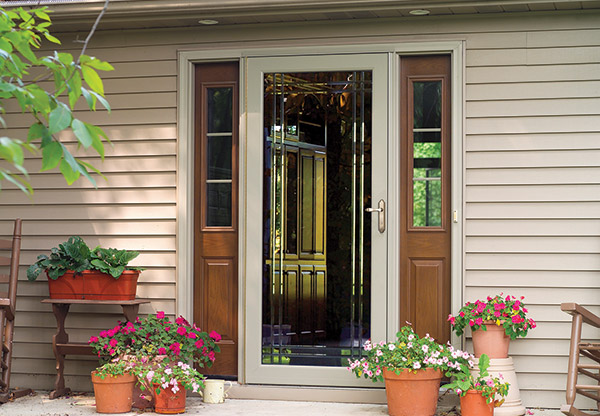 how to repair a sagging storm door