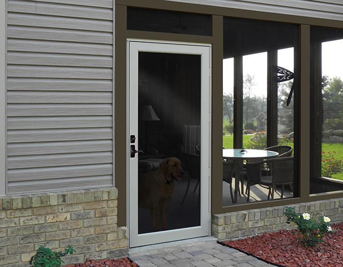 repair a sagging storm door