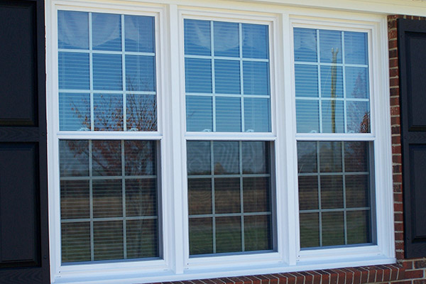 standard double hung window sizes